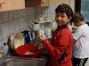 Jacob beim Küchendienst