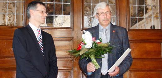 Ehrennadel des Landes Sachsen-Anhalt für Dr. Uwe Pfannmöller